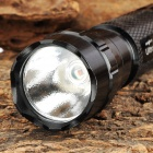 Ultrafire 501B LED 70lm Red Flashlight - Black (1 x 18650)