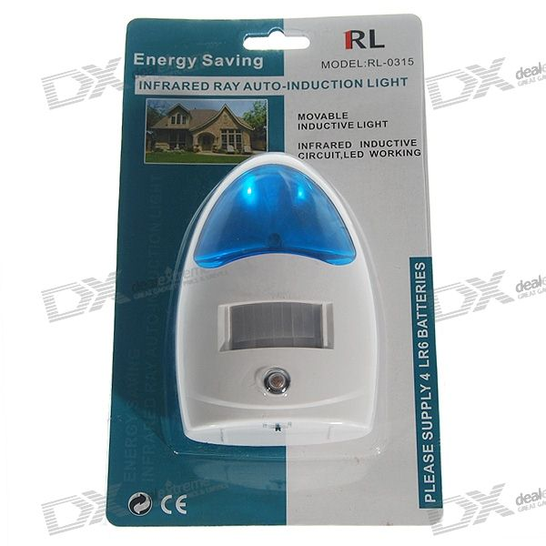 PIR Motion Activated LED Night Light (3 Meter/120 Degrees)