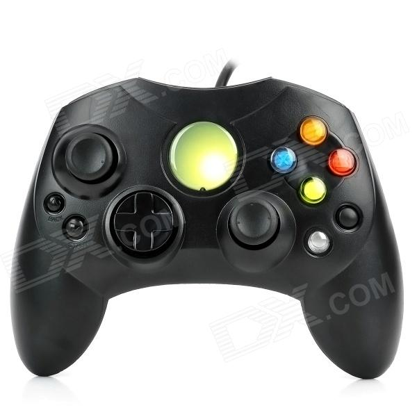 Buy Wired Game Controller Joystick for Xbox - Black with Litecoins with Free Shipping on Gipsybee.com
