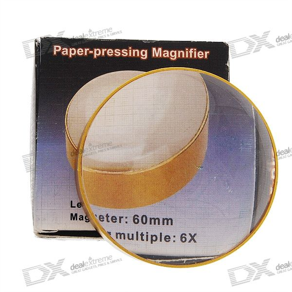 Golden 6X Close-up Magnifier