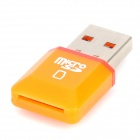 Diamond high-speed USB 2.0 micro SD SDHC TF-Kartenleser - orange