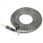 3,5 mm TRRS Muž na 3,5 mm Male audio kabel - Grey