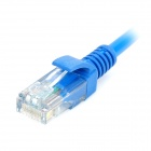 Cat 5e RJ45 a RJ45 Red Cable - Blue (20m / 4-Pair 24AWG)
