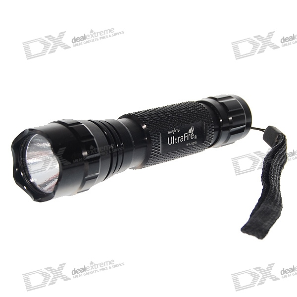 UltraFire WF-501B 3W UV 395~400nm LED Flashlight (1*18650/2*CR123A) for sale for the best price on Gipsybee.com.