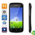 "STAR 001S+ Android 4.0 WCDMA Bar Phone w/ 4.3"" Capacitive Screen, Wi-Fi, GPS and Dual-SIM - Black"