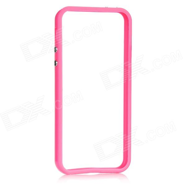 Protective Bumper Frame for Iphone 5 - PinkPlastic Cases<br>Quantity:Material:Form  ColorPinkStyleBumper CasesPacking List<br>