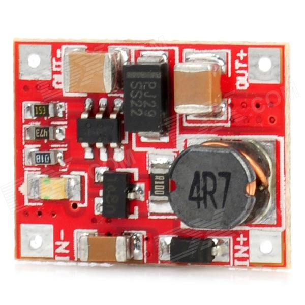 DC-DC 3V to 5V Boost Converter Charger Module - Red