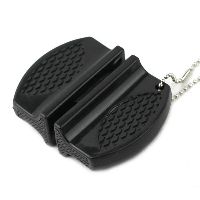 Small-sized Exquisite Portable Knife Sharpener - Black for sale in Bitcoin, Litecoin, Ethereum, Bitcoin Cash with the best price and Free Shipping on Gipsybee.com