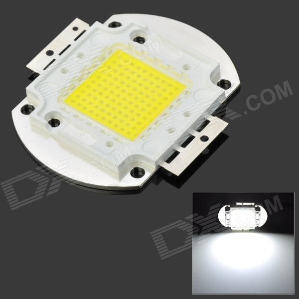 DIY 100W 10000LM Cold White Light 100-LED Plate Module (DC 32~34V)Material:Form  ColorWhiteQuantity:Power:Color BINWhiteEmitter TypeLEDColor Temperature6500KPacking List<br>