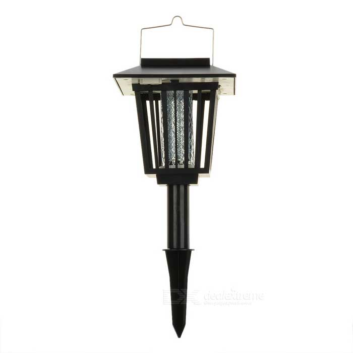 Solar Powered Self-Recharged Automatic Mosquito/Pest Zapper Light Lantern for the Outdoors