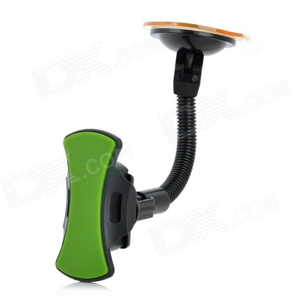 Long Tube Car Stand Holder for Iphone / Samsung / HTC / BlackBerry - Black