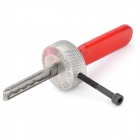 Stainless Steel Lock Pick for the Third Volkswagen - Silver + Red