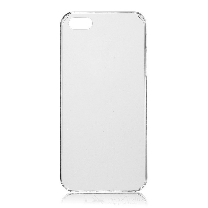 Protective PC Back Case for IPHONE 5 - Transparent