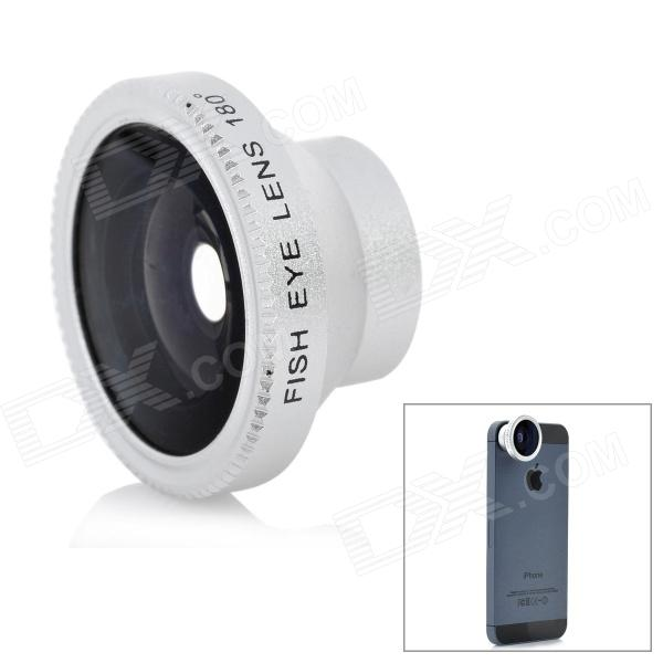 Magnet Mount Conversion 180 Degree Fish Eye Lens for Iphone / HTC / Samsung - Silver for sale in Bitcoin, Litecoin, Ethereum, Bitcoin Cash with the best price and Free Shipping on Gipsybee.com