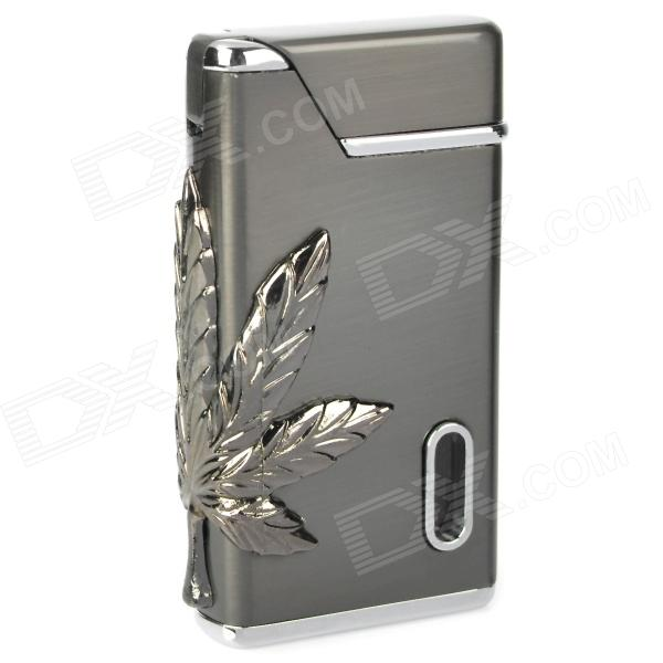 Buy Windproof Electroplating Butane Jet Lighter - Silver Black with Litecoins with Free Shipping on Gipsybee.com