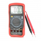 UNI-T-UT53-28-LCD-Digital-Multimeter-Red-2b-Grey-(1-x-9V)