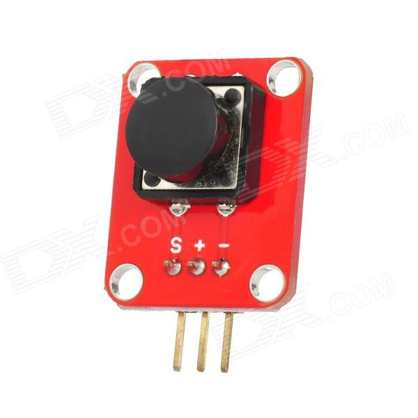 Push Button Switch Module w/ Cap for Arduino (Works with Official Arduino  Boards)