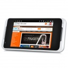 "G25 Android 2.3 WCDMA Bar Phone w/ 3.5"" Capacitive Screen, Wi-Fi, GPS and Dual-SIM - White"