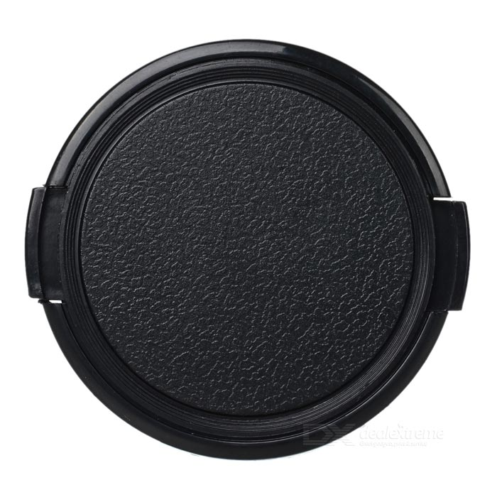 58mm Universal Plastic Lens Cap for Sony / Pentax Camera - Black