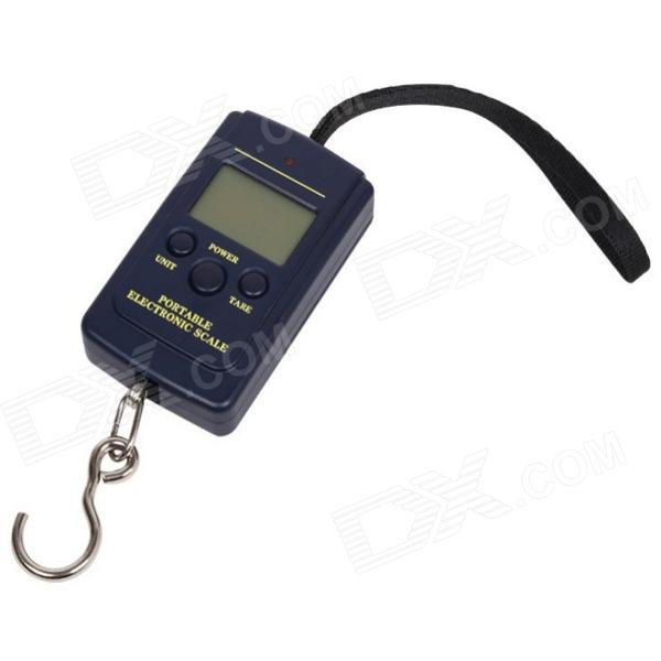 "1.4"" LCD Portable Electronic Handheld Hanging Digital Scale (2 x AA / 40kg)"