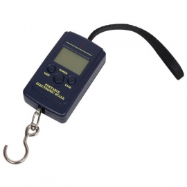 """1.4"""" LCD Portable Electronic Handheld Hanging Digital Scale (2 x AA / 40kg)"""