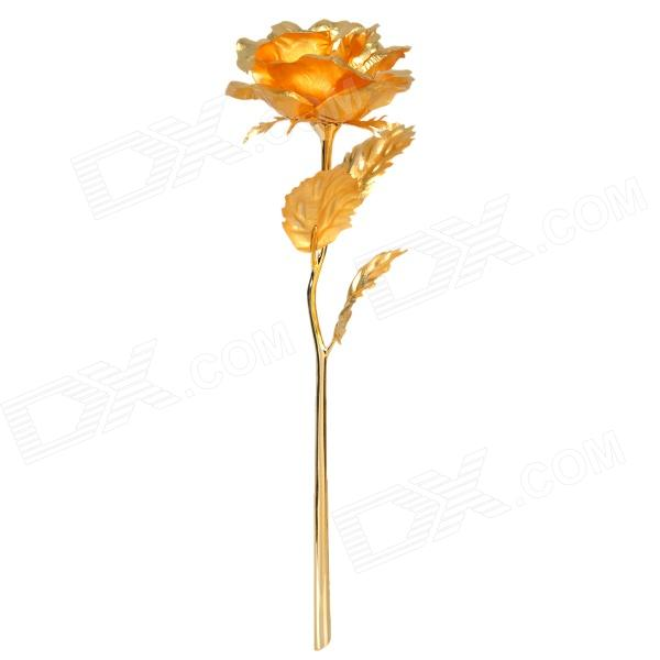 Valentine's Day Gift 24K Gold Foil Rose - Golden