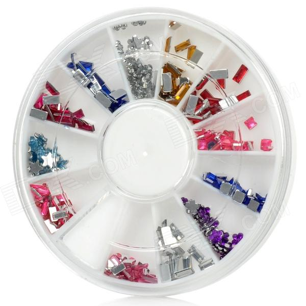 Nail Art Beads Assorted 12 Style Set Free Shipping Dealextreme