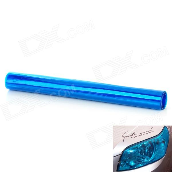 Protective Decoration Car Headlight Color Changing Film Sticker - Blue (120 x 30cm)