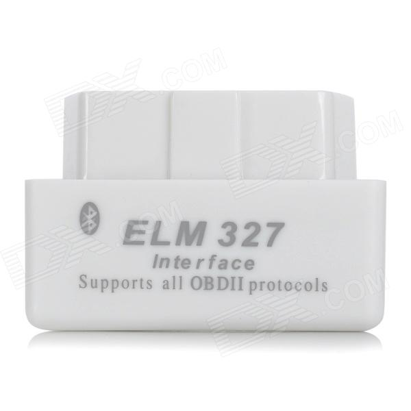 ELM327 OBDII V2.1 Bluetooth Auto Car Diagnostic Scan Tool - White