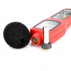 "UT352 2.5"" LCD Digital Sound Level Meter - Red + Grey (4 x AA)"