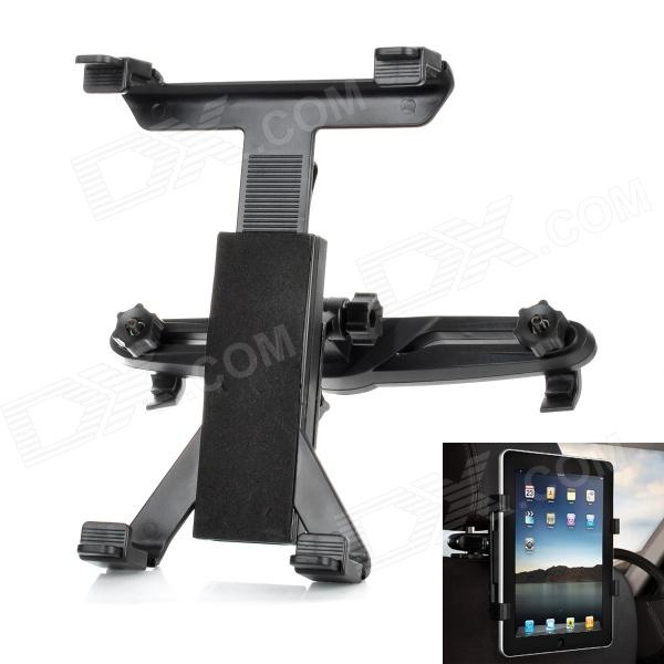 Adjustable Car Swivel Mount + Head Rest Pillow Holder Set for Ipad / Ipad 2 / New Ipad + MoreGPS Holders<br>Material:Form  ColorBlackApplicable ProductsUniversal,Tablet PCRotation90Packing List<br>
