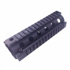 Aluminum Alloy Quad Rail Hand Guard w/ Wrench for M16 Rifle - Black
