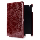 Alligator-Pattern-Protective-PU-Leather-Case-for-Ipad-2-the-New-Ipad-Wine-Red