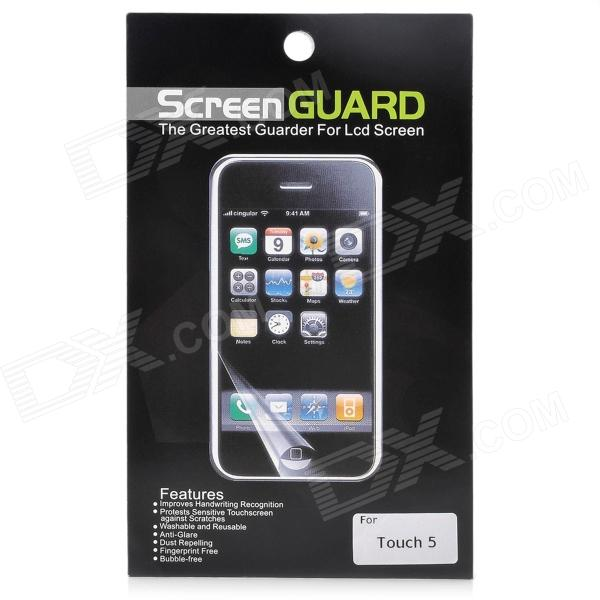Protective Glossy ARM Screen Protector Guard for Ipod Touch 5 - Transparent (5 PCS)