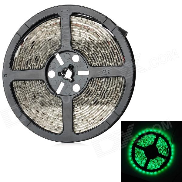 18W 1200lm 490-560nm 300-SMD 3528 LED Green Light Car Flexible Decoration Strip (DC 12V / 500cm)