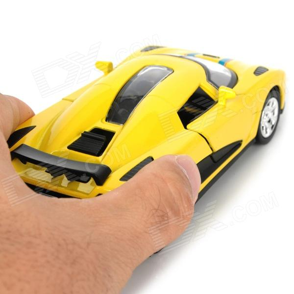 Multifunction Aluminum Alloy Pull Back Car Toy - Yellow ...