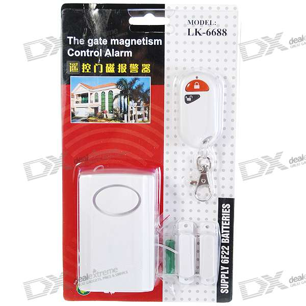 Wireless Window and Door Magnetic Sensor Anti-Theft Security Alarm