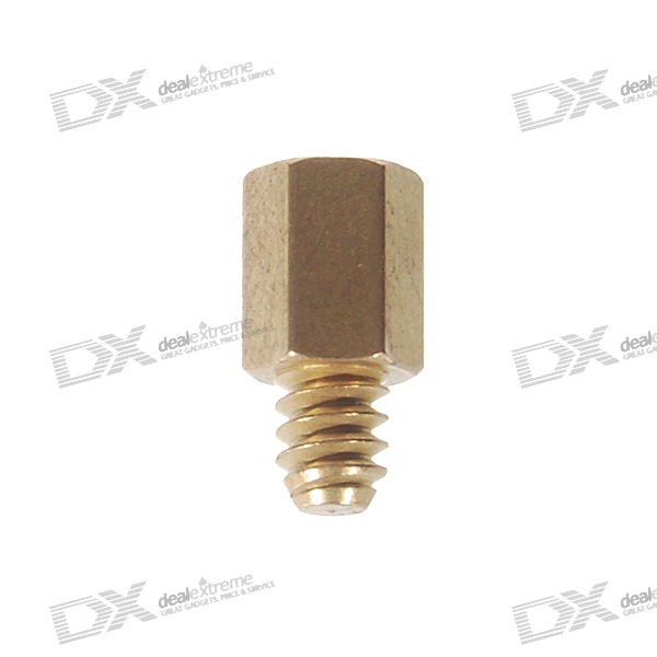 6*4 Imperial Standard Brass PC Case Screws Kit (20-Pack)