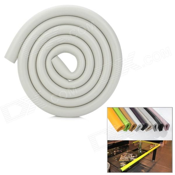 Buy Baby Safety Anti-Collision Strip Table Desk Corner Cushion Cover Protector Guard - Grey with Litecoins with Free Shipping on Gipsybee.com