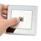 smeonG Wall Mount Socket Computer switch w / Tornillos - Plata