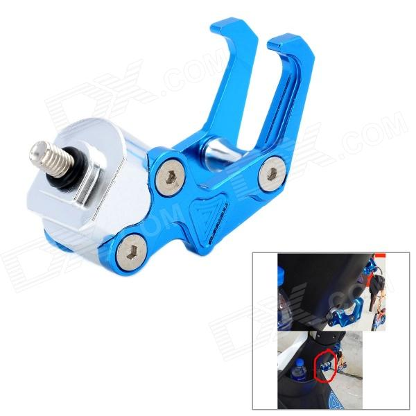 DIY Aluminum Alloy Eagle Claw Luggage Hanging Hook for Motorcycle / Bicycle - Blue