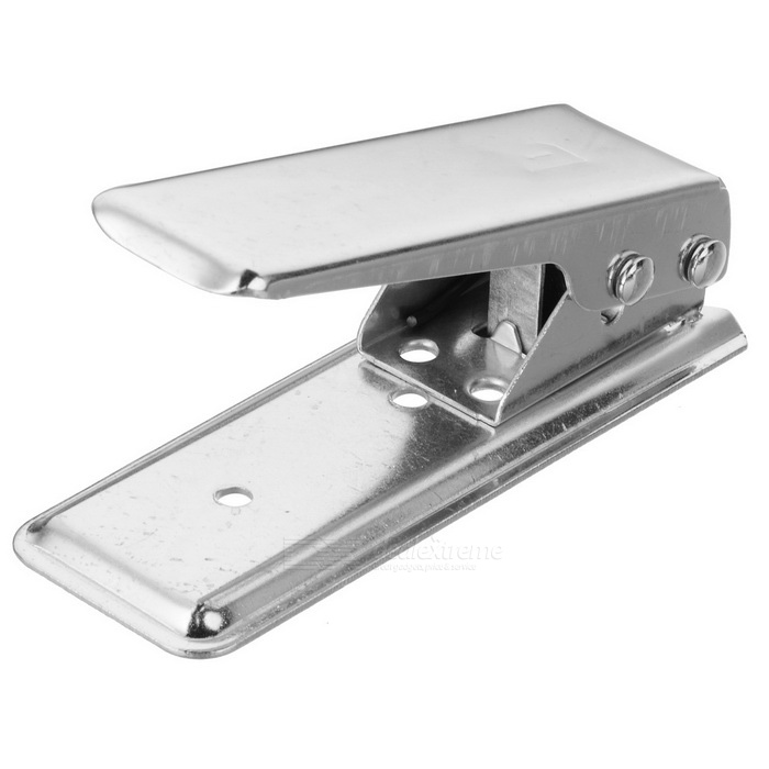 Buy Nano SIM Card Cutter for Iphone 5 - Silver with Litecoins with Free Shipping on Gipsybee.com