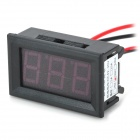 50A 3-Digit Display Panel Digital Ammeter w/ Shunt Resistor - Black (DC 4~30V)