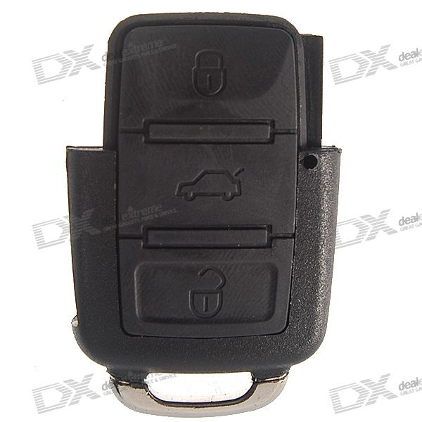VW Passat 3-Button Remote Key Casing