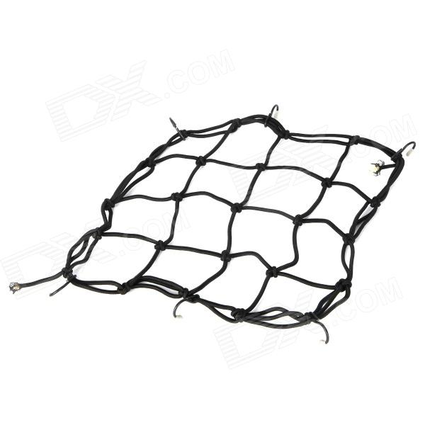Buy Motorcycle Mesh Helmet Cargo Net Luggage - Black with Litecoins with Free Shipping on Gipsybee.com