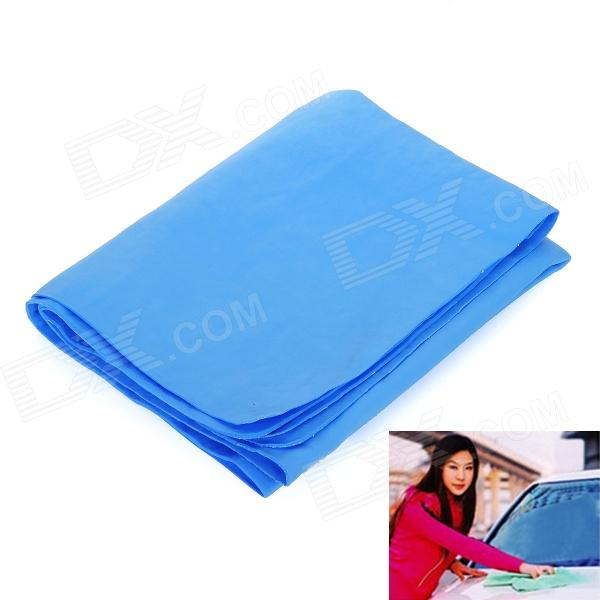 PVA Chamois Car/House Cleaning Towel Cloth - Blue (Size L)