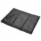 HASKY Outdoor Camping Rainproof Nylon Groundsheet - Black