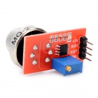 MQ2 High Sensitivity Sensor Rauchmelder Gas - Rot + Silber