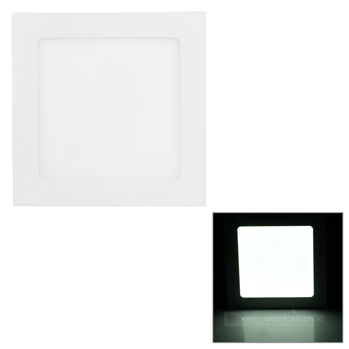 Buy 12W 7000K 880lm 60-SMD 2835 LED White Light Ceiling Lamp w/ Driver - White (AC 90~265V) with Litecoins with Free Shipping on Gipsybee.com
