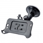 Parabrisas del coche giratoria giratoria Mount Holder w / Suction Cup para Samsung Galaxy Note N7100 2 - Negro